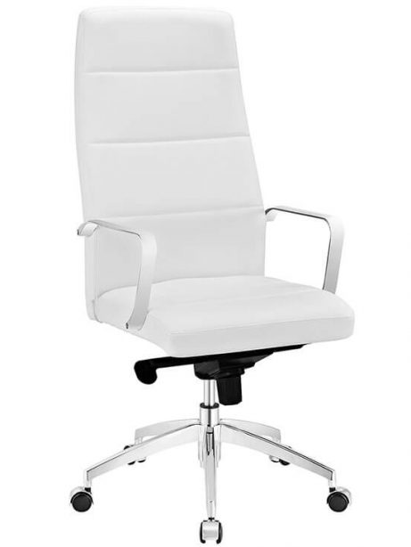 office chair high back white leather 461x614