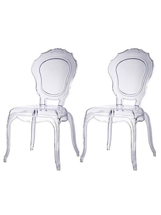 queen chair 2 set