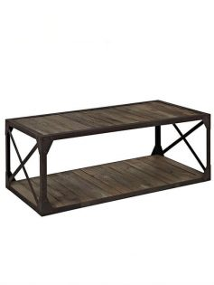 reclaimed wood coffee table 237x315