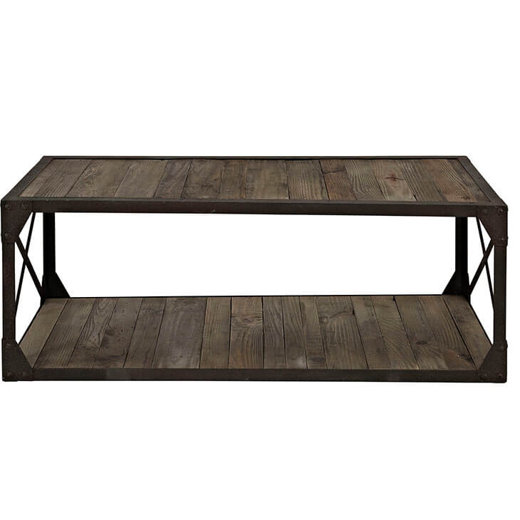 reclaimed wood coffee table 3