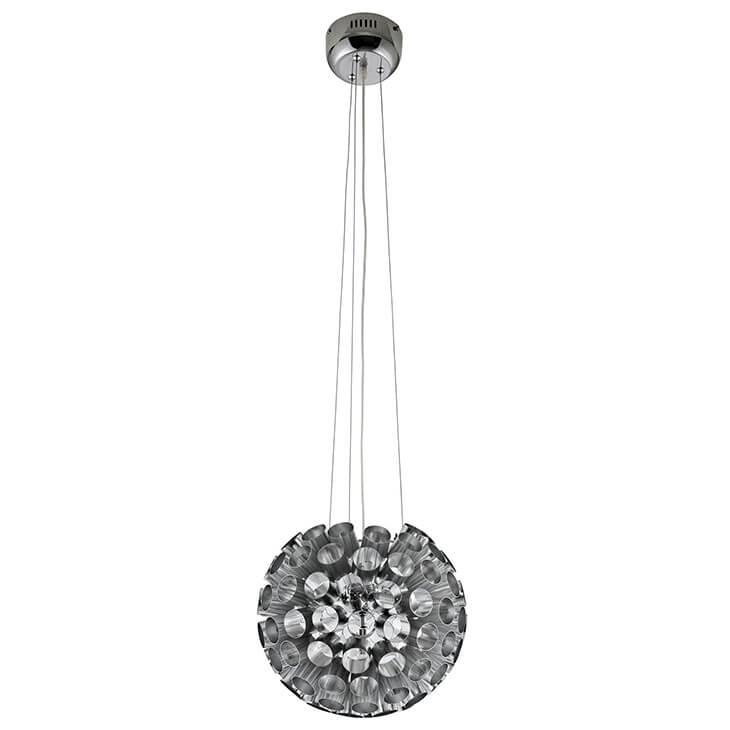 silver circa pendant light