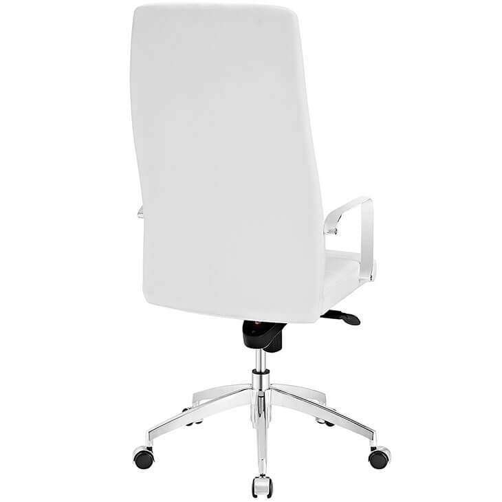 white large office chair