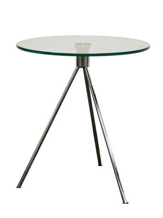 Atos Glass Side Table