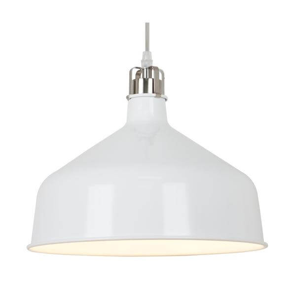 Circuit pendant light white