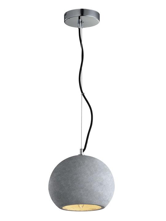 Acrylic table lamp medium modern furniture brickell collection concrete round pendant light aloadofball Images