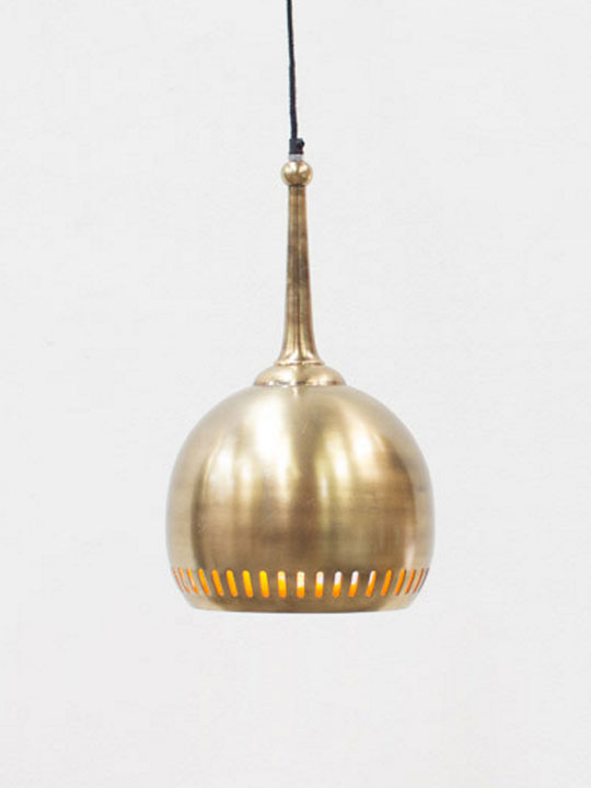 Gold Deco Pendant Light