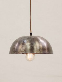 Industrial Metal Dome Pendant Light 237x315