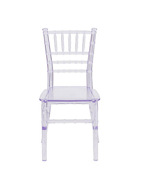 Kids Clear Elegant Chair 1