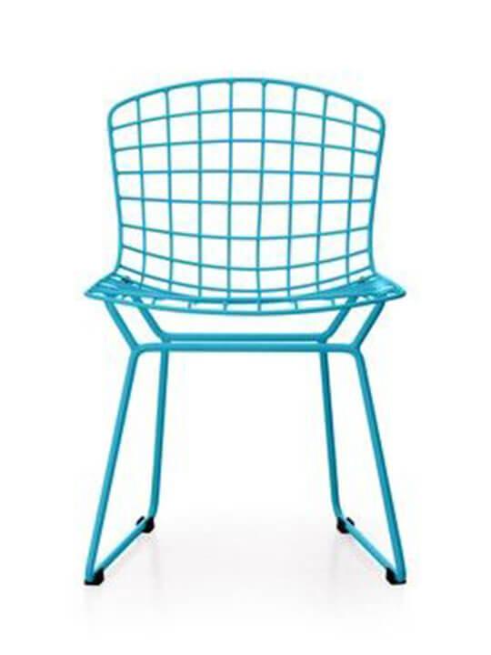 Kids blue modern chair
