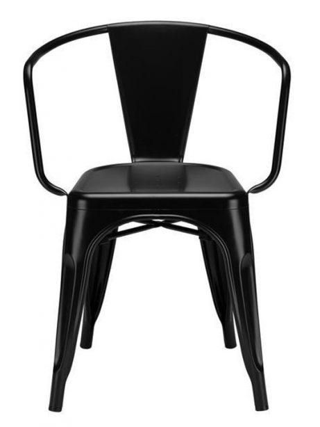 Metal Cafe Chair 2 461x614