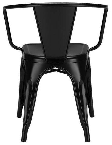black metal cafe chair 4 461x600