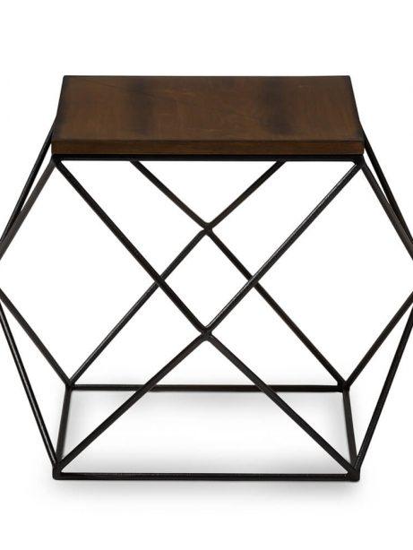 black wire wood geo side table 3 461x614