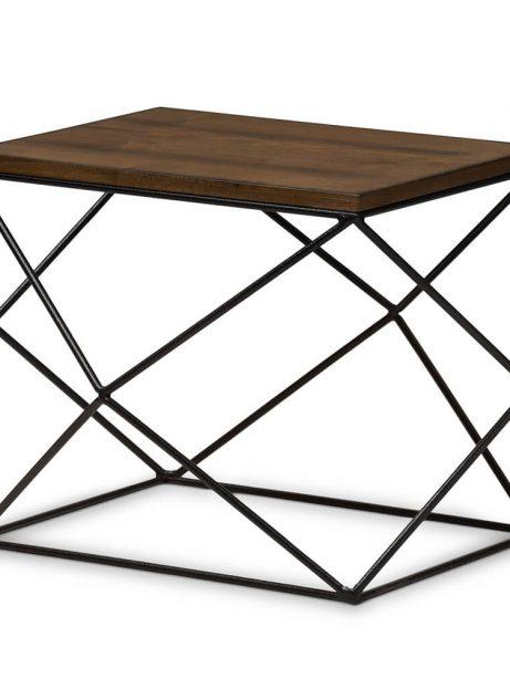 black wire wood geo side table 461x614