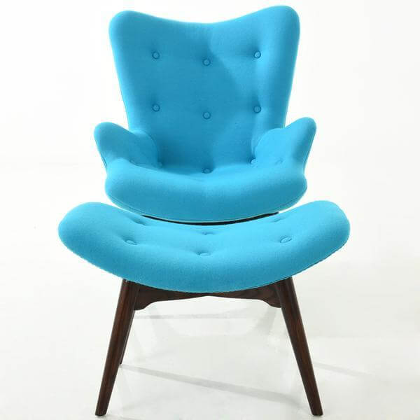 blue papa chair