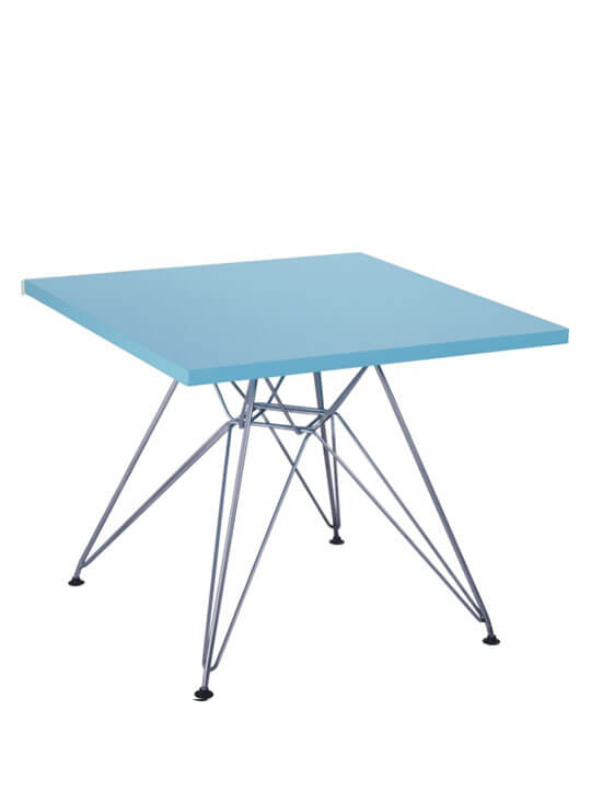 blue wire kids table