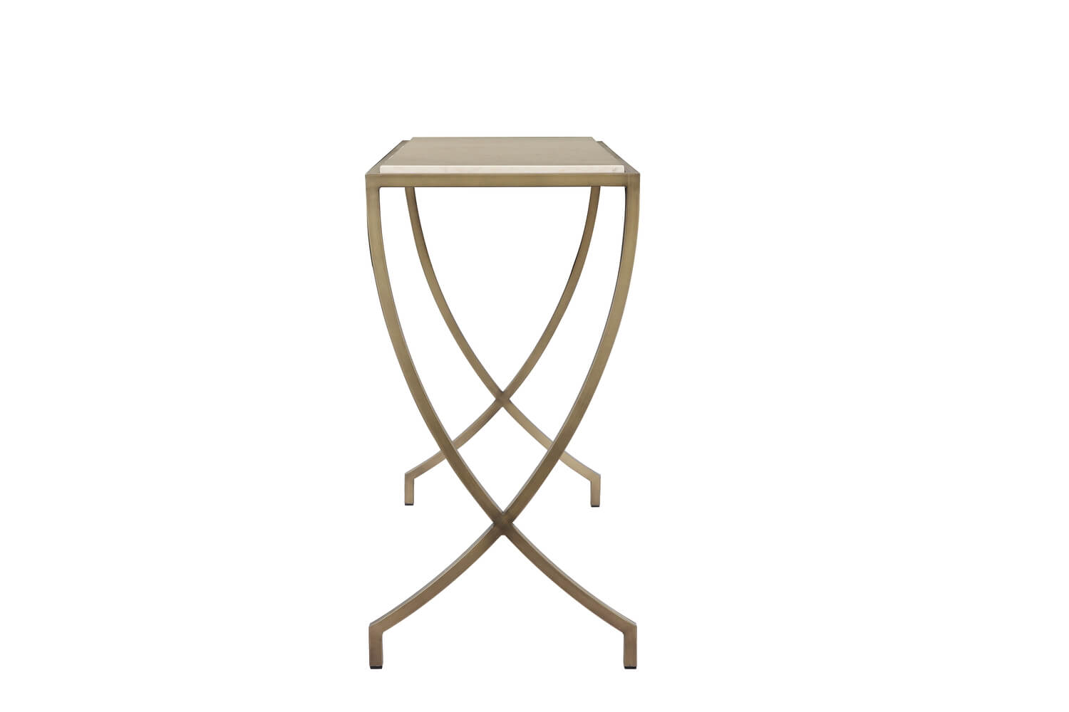 caspian marble console table 4