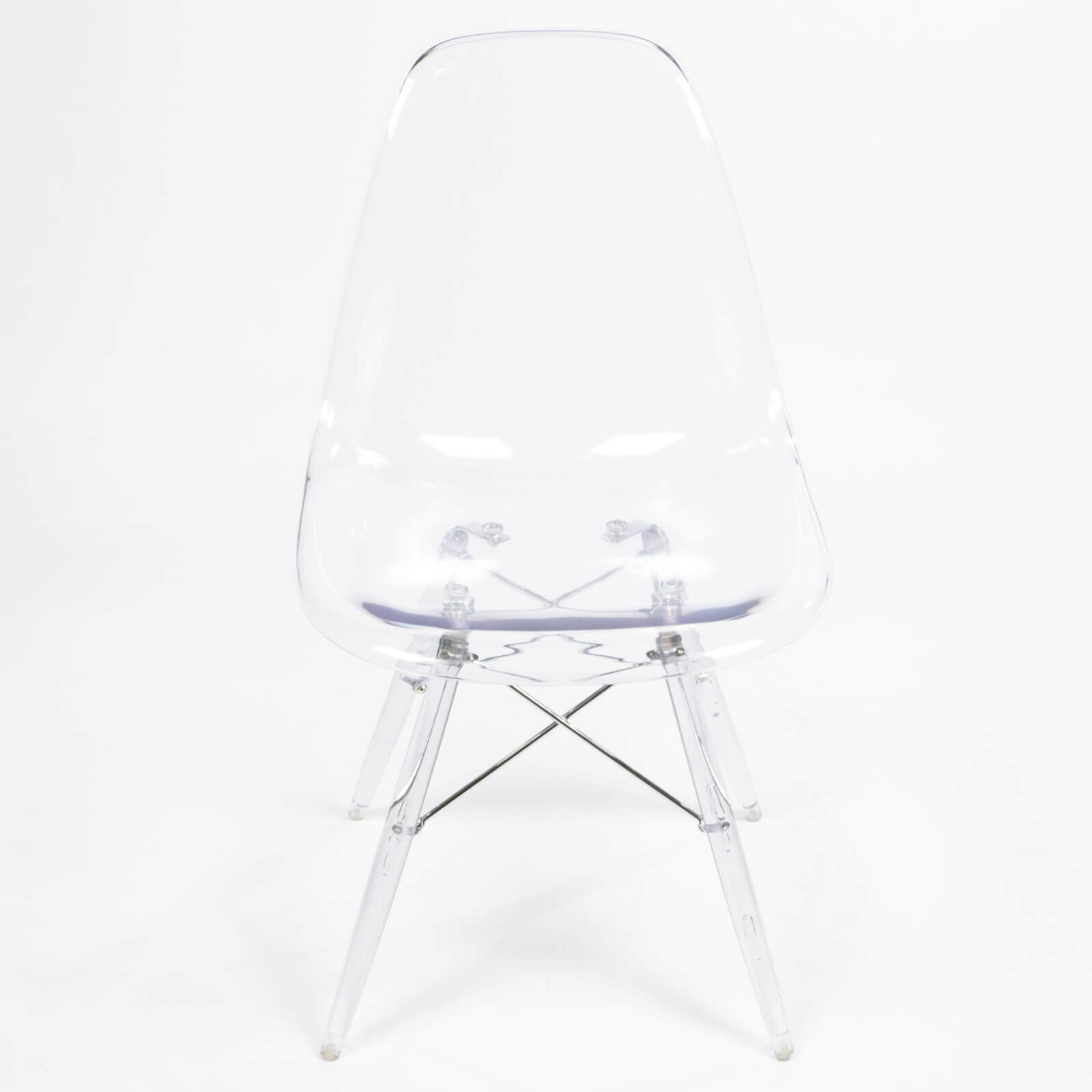 eames chair clear transparent
