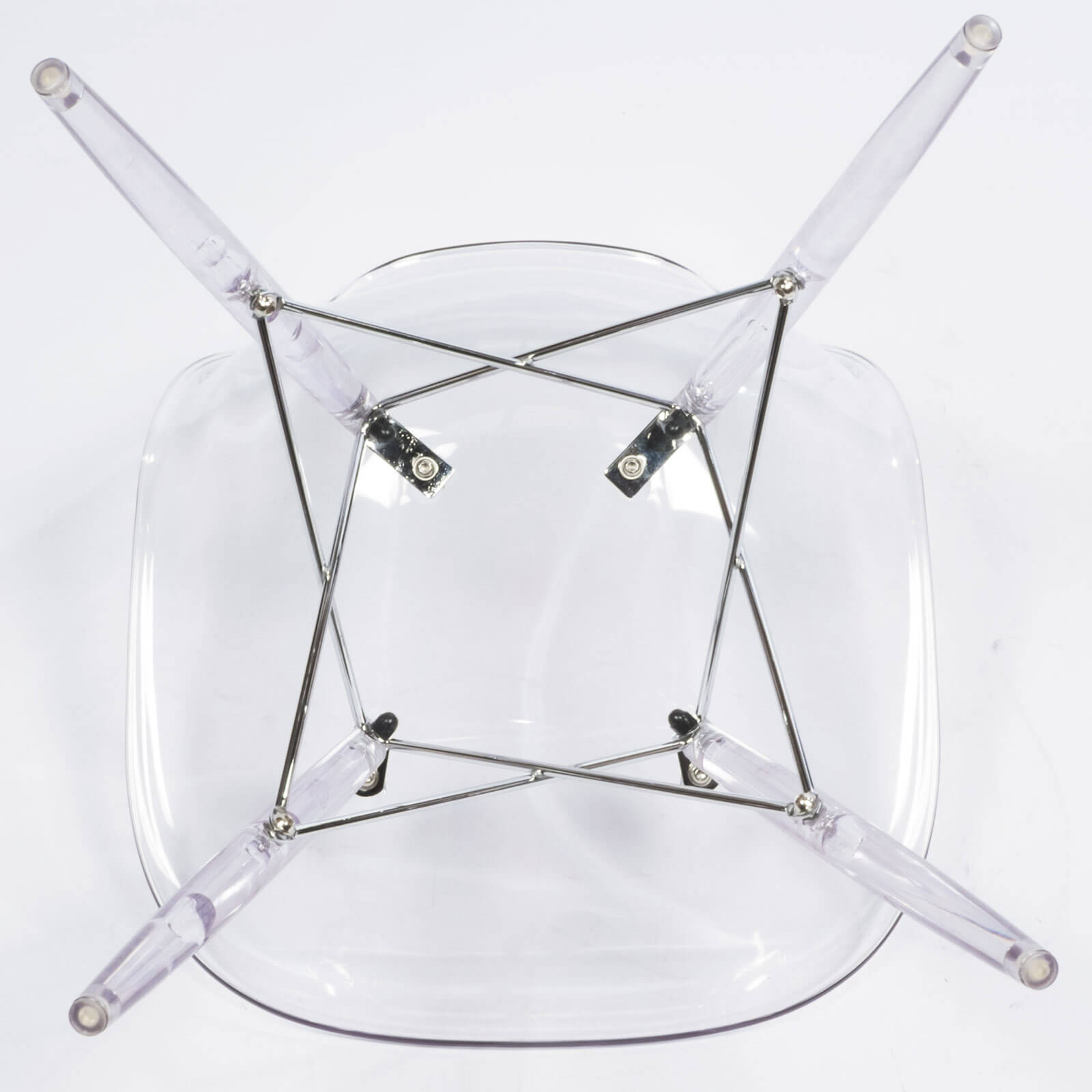 eames clear chair