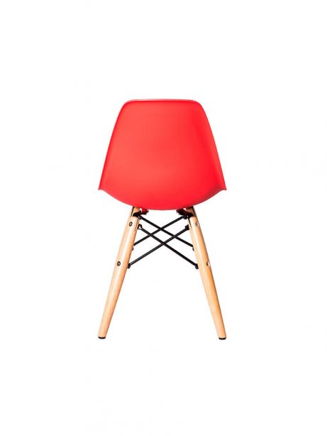 eames red children chair 461x614