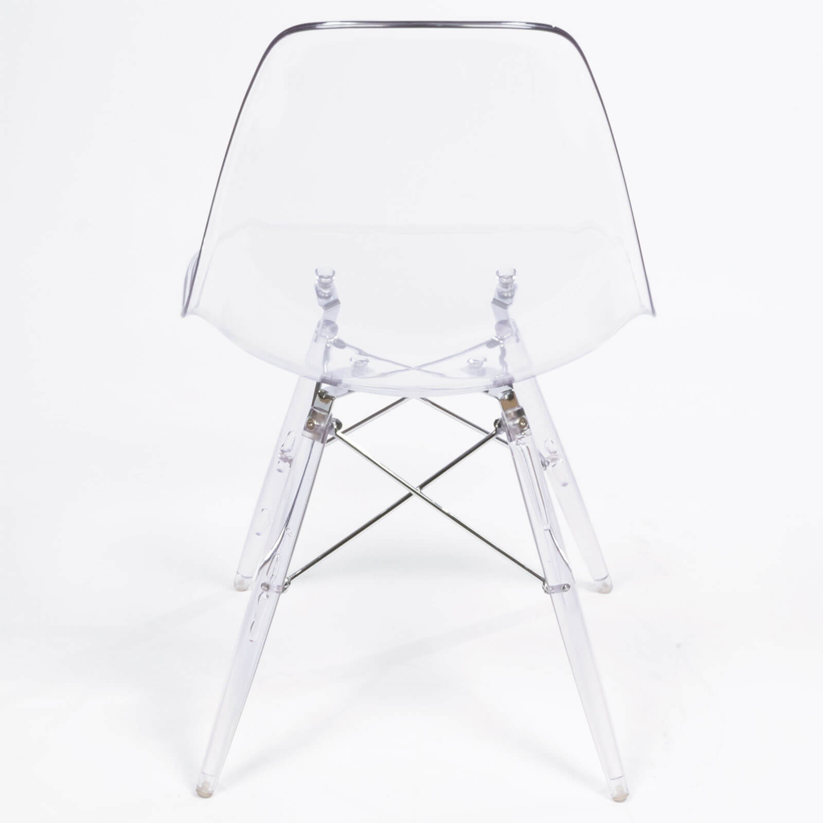 eames side chair clear