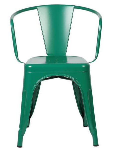 green metal cafe chair 2 461x600