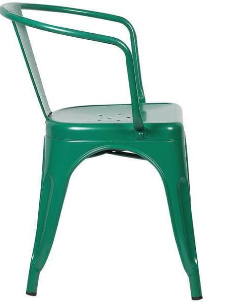 green metal cafe chair 3 461x600