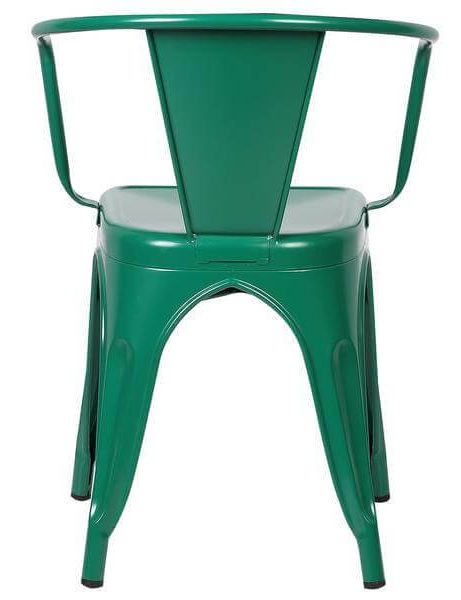 green metal cafe chair 4 461x600