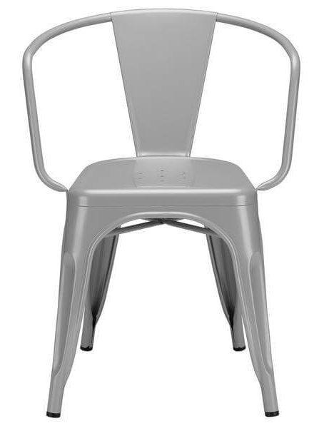 grey metal cafe chair 2 461x600