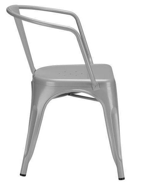 grey metal cafe chair 3 461x600