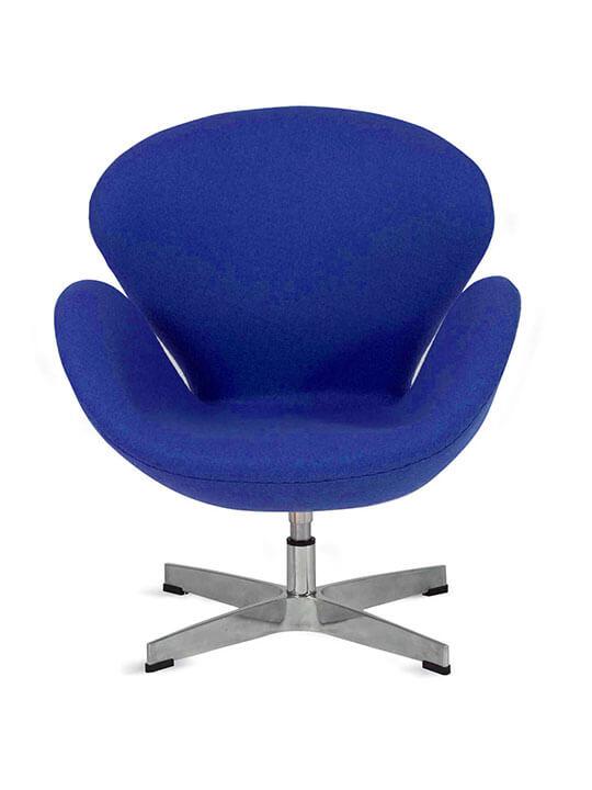 kids blue hug fabric chair