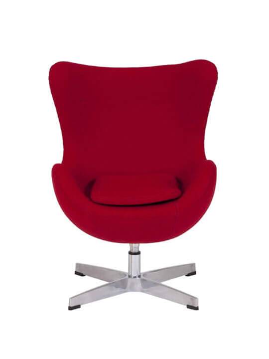 kids magnum fabric chair red