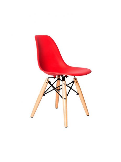 kids red ceremony wood chair  461x614