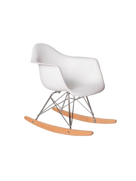 kids white eames rocking chair 461x614