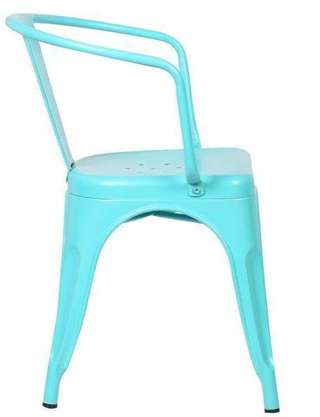 light blue metal cafe chair 2 461x600