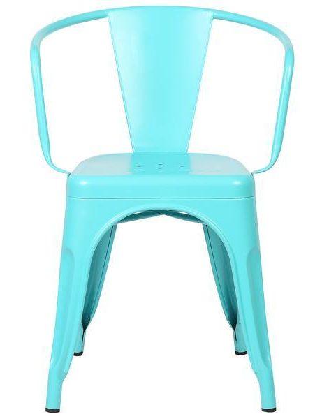 light blue metal cafe chair 3 461x600