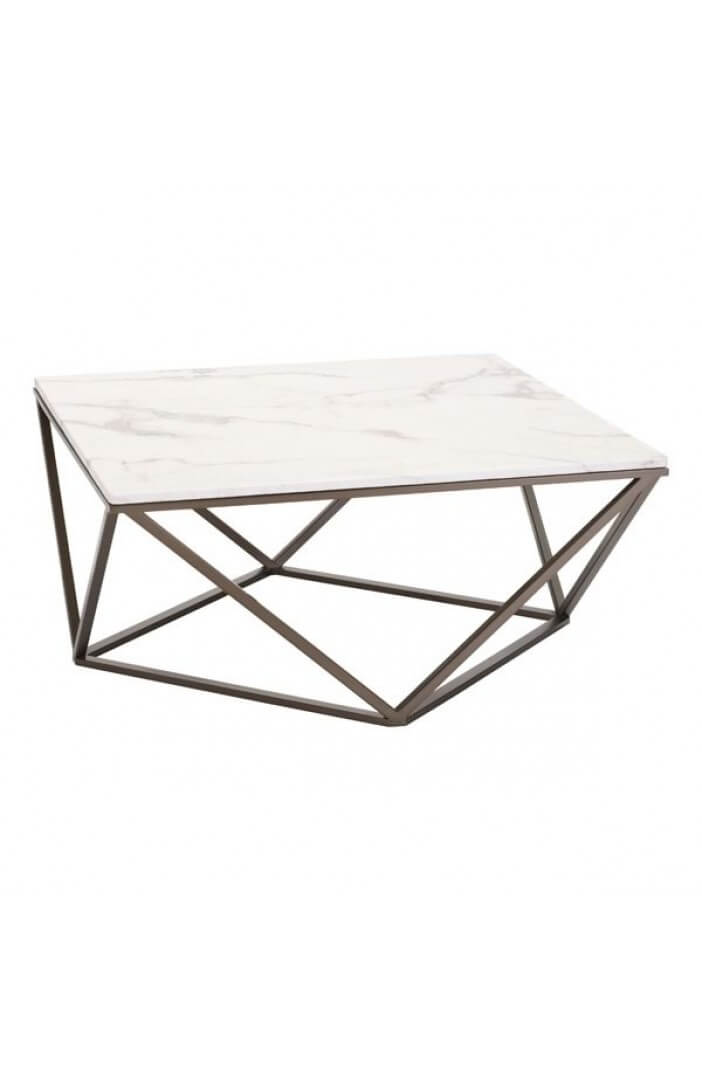 marble brass coffee table 2