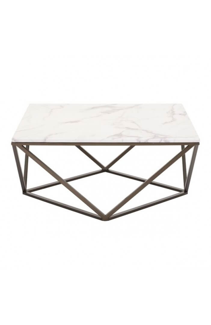 marble brass coffee table 4