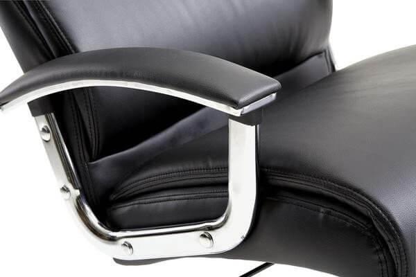 modern plush office chair