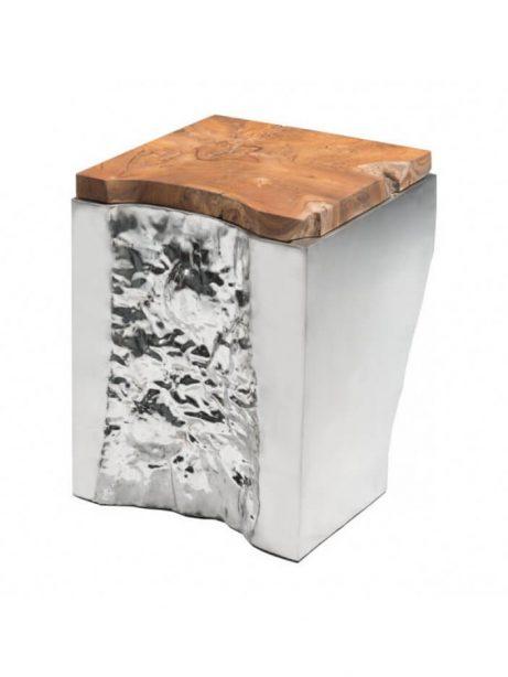 palladium silver wood side table 2 461x614