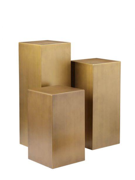 pedestal brass 3 set 461x614