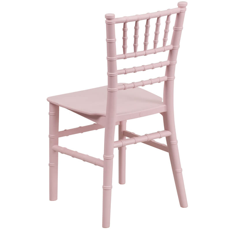 pink childrens chair