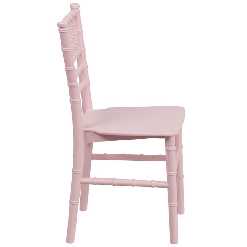 pink kids chair