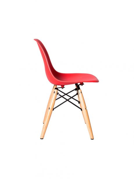 red eames kids chair 461x614