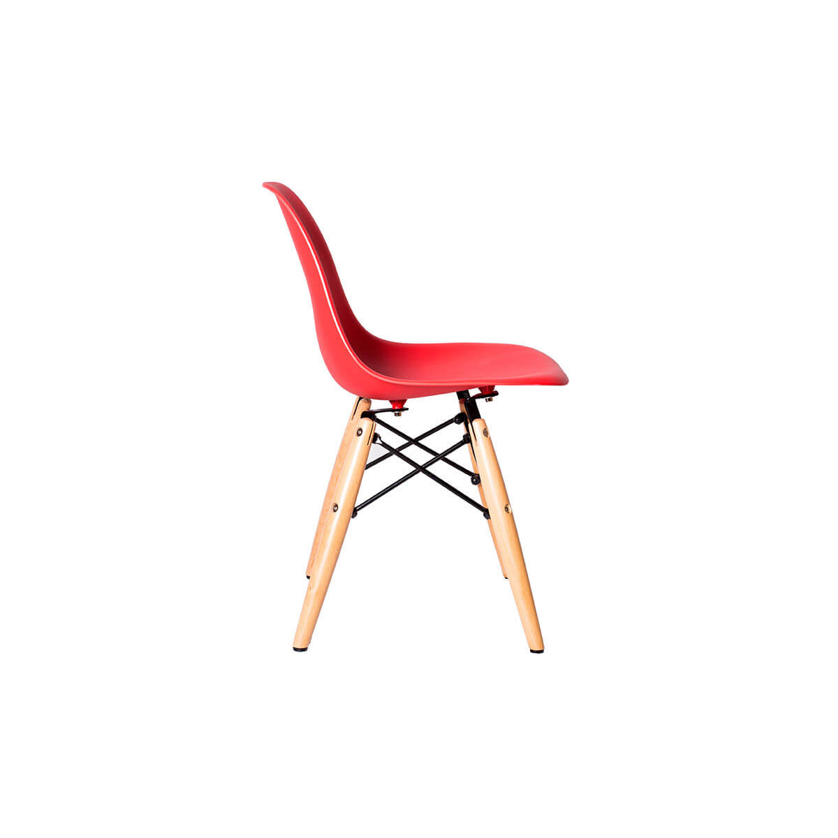 red eames kids chair