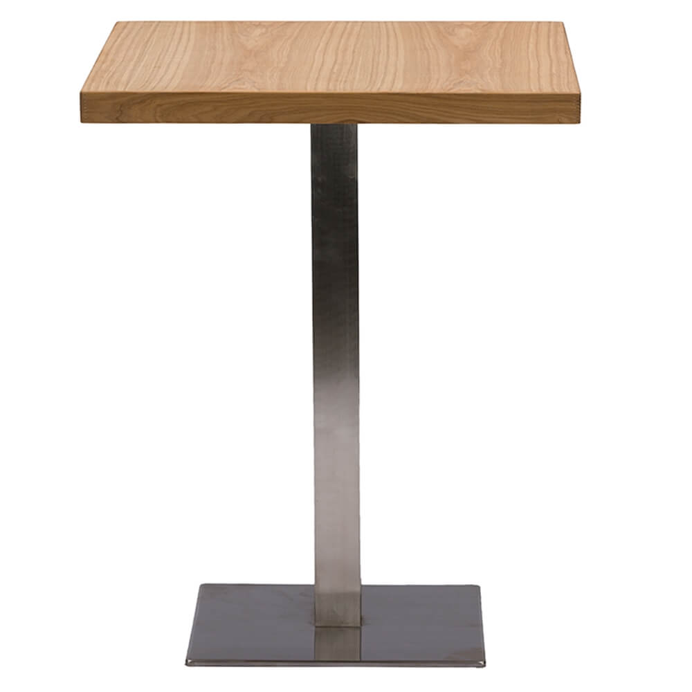 wood cafe table 1