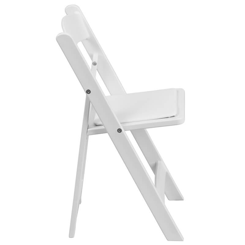 Kids White Folding Chair 1