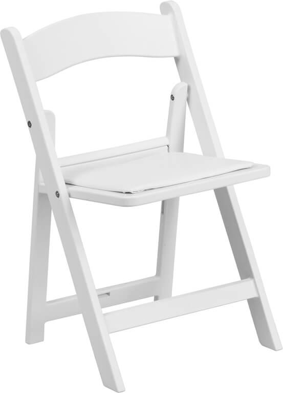 Kids White Folding Chair 2 1