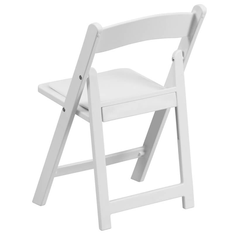 Kids White Folding Chair 3 1