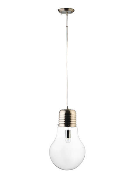 Large Bulb Pendant Light