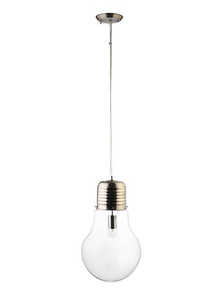 Large Bulb Pendant Light